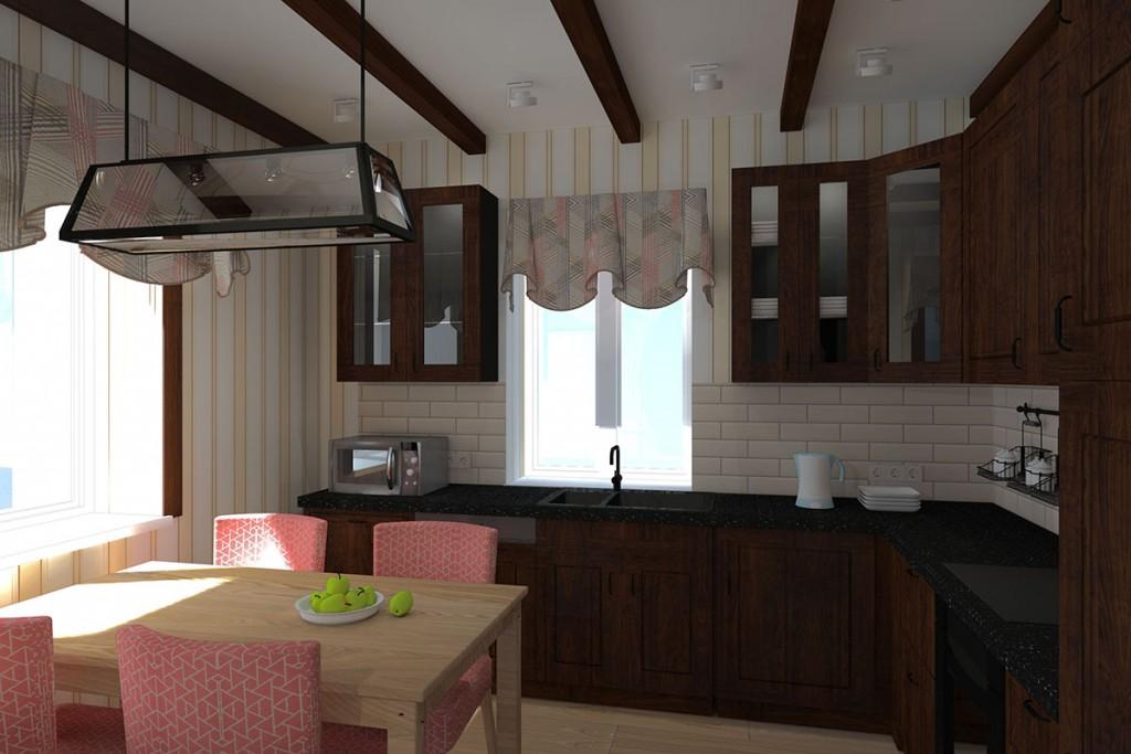 шале_кухня